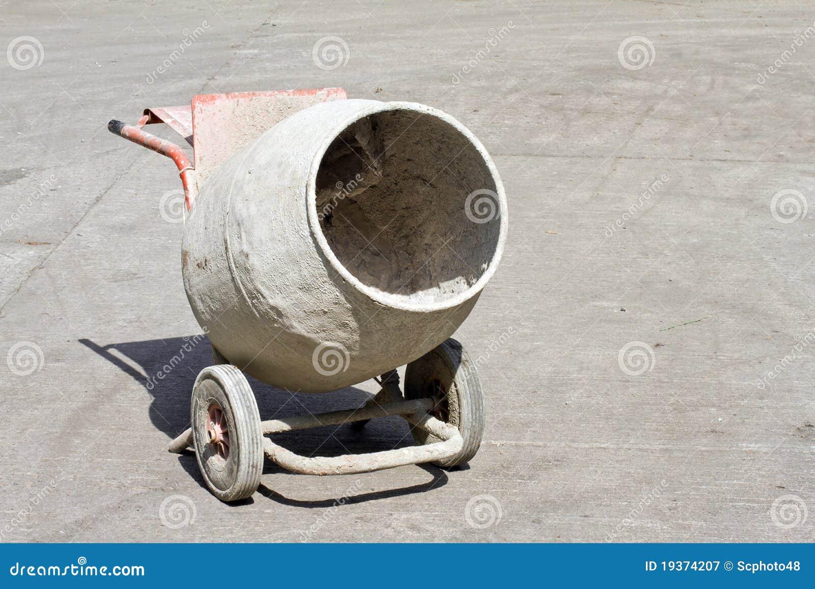 Misturador de cimento velho