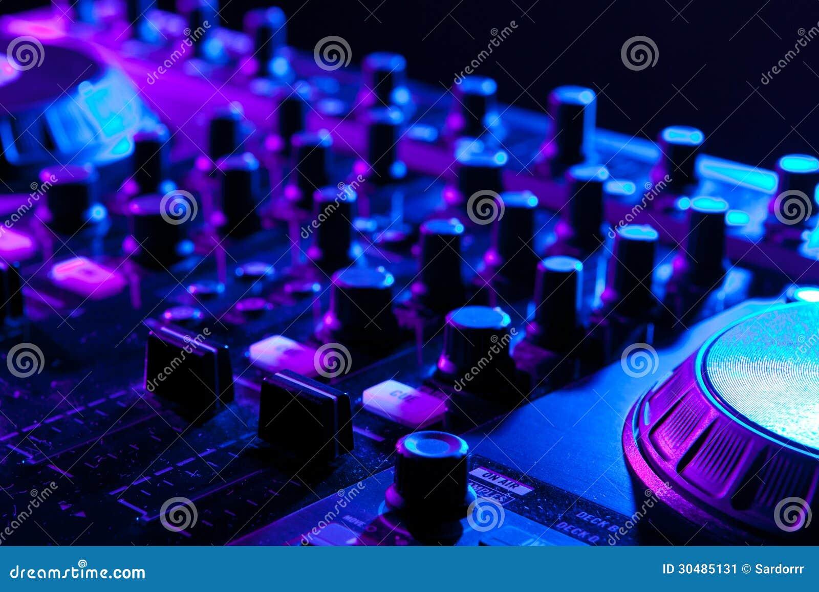 Misturador do DJ