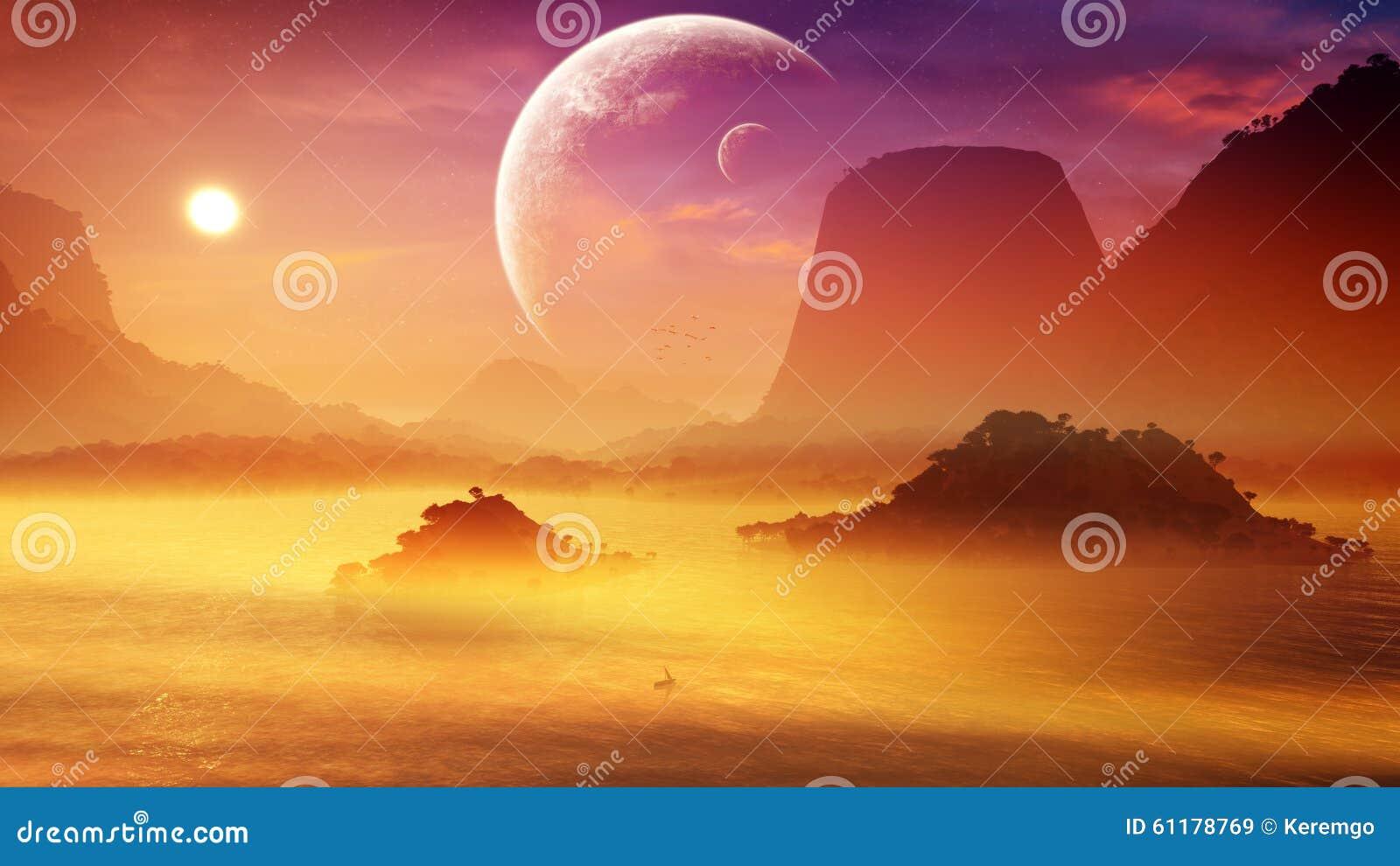 Misty Fantasy Sunset macia