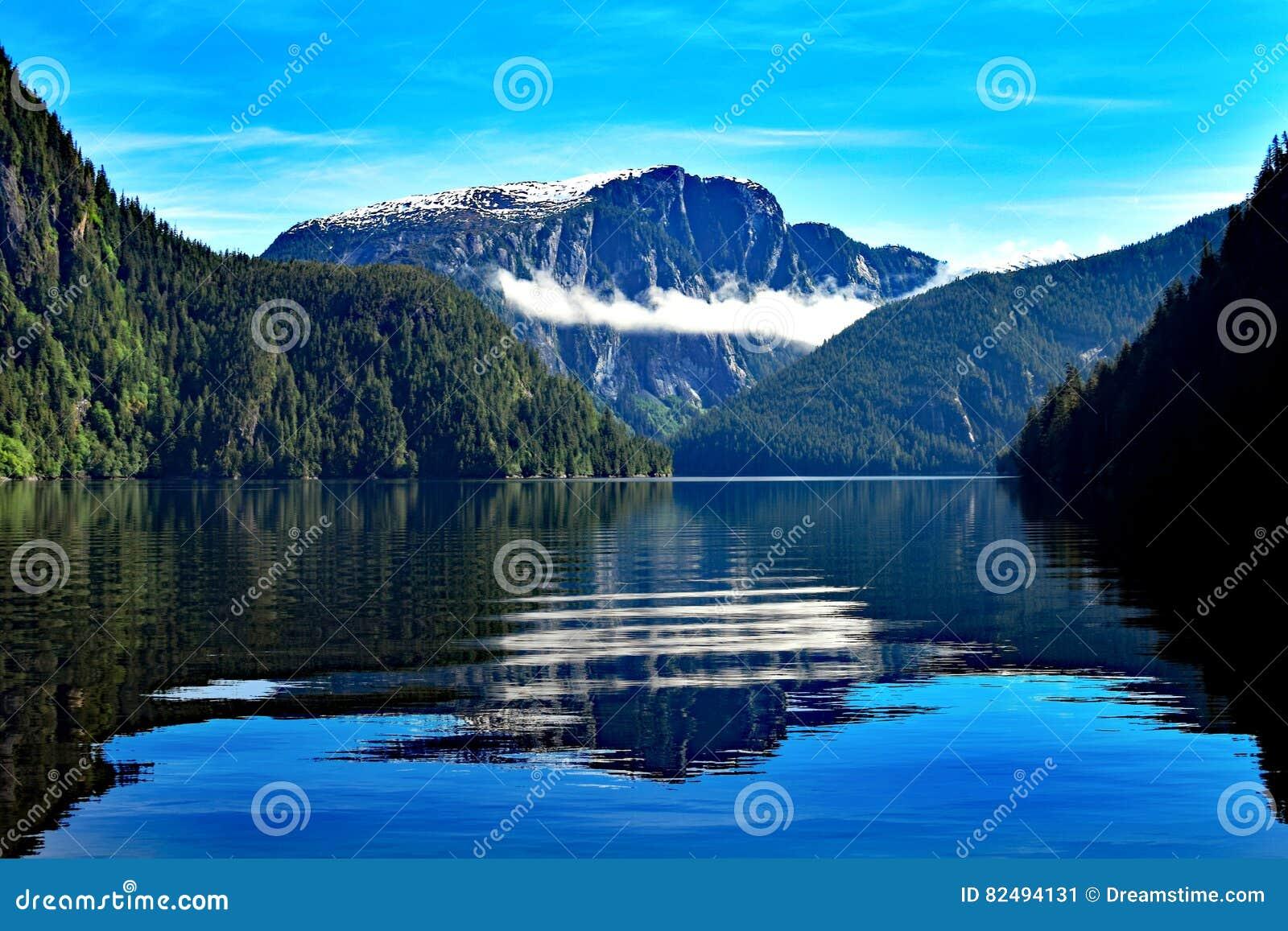 Misty Fjords Reflections