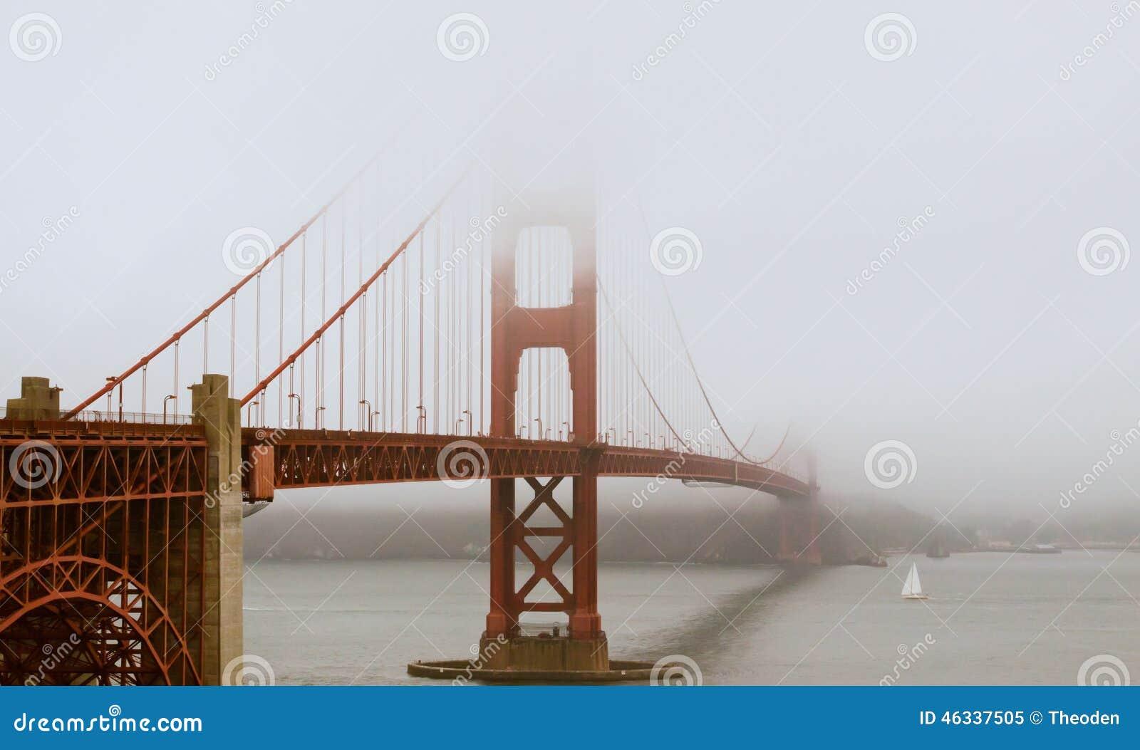 Misty Golden Gate