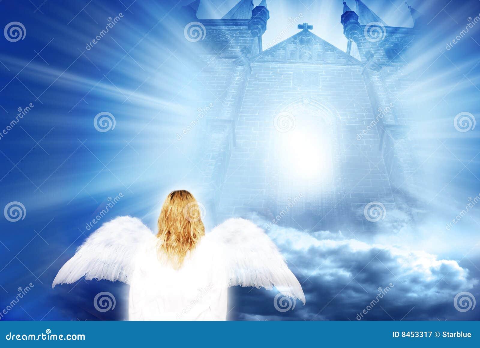 Mistyczna anioł brama