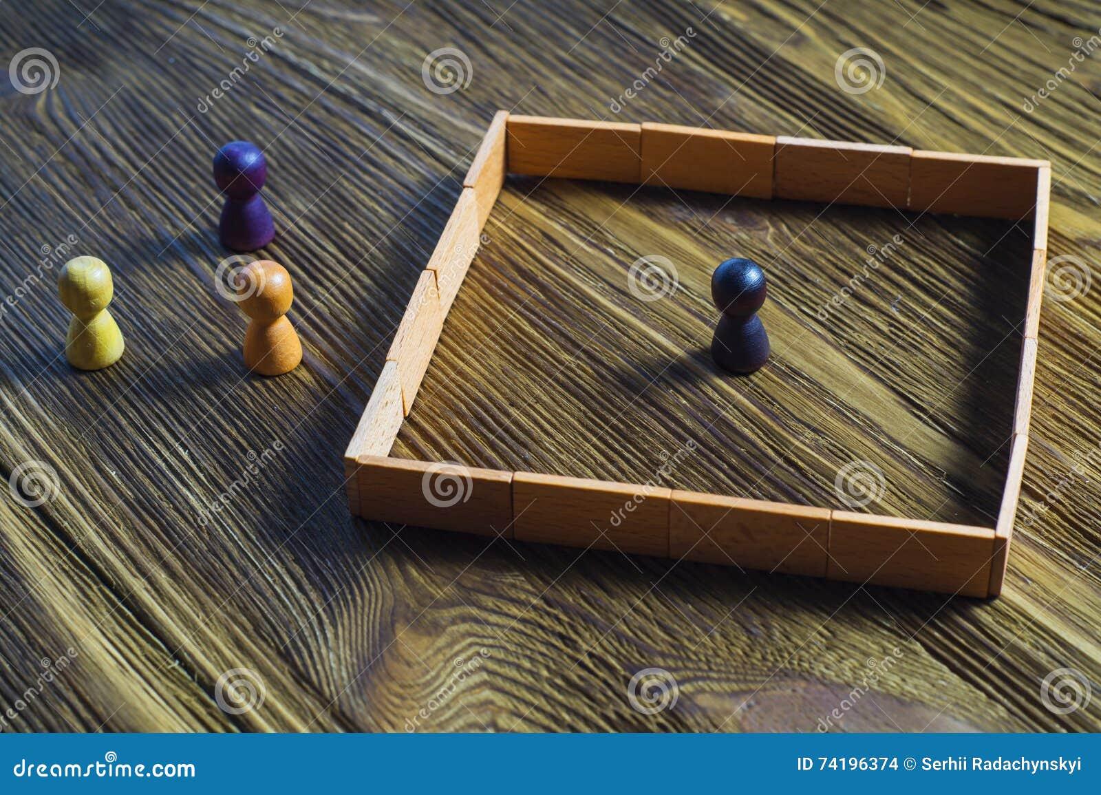 Misunderstanding, a barrier in relations, denial of society.