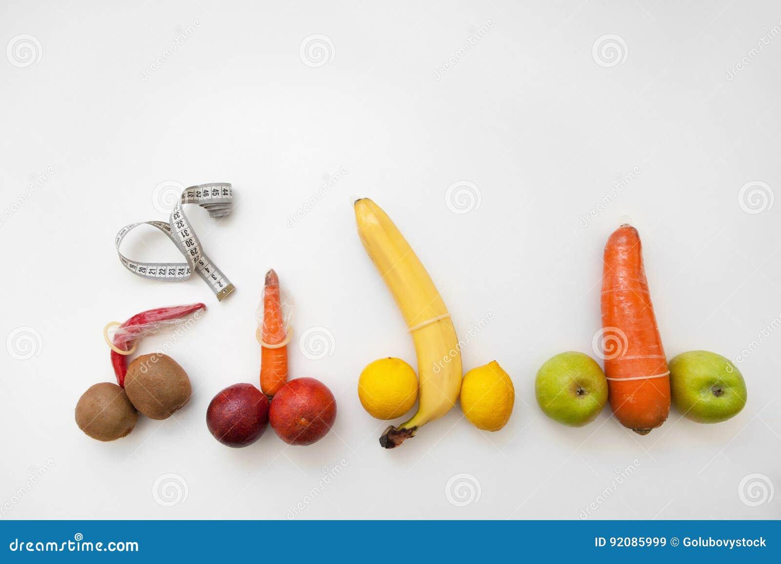 pene di frutta