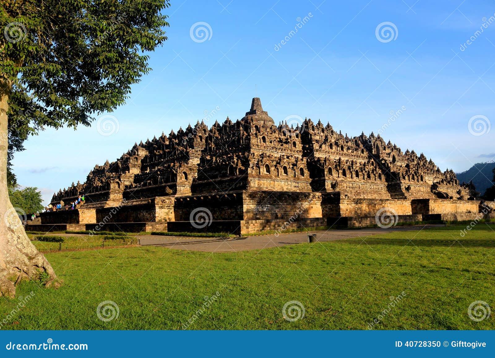 Misura reale di Borobudur