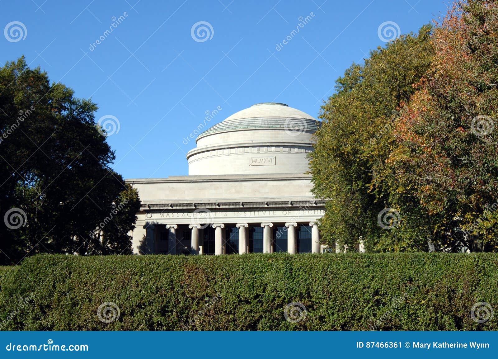 MIT伟大的圆顶在波士顿
