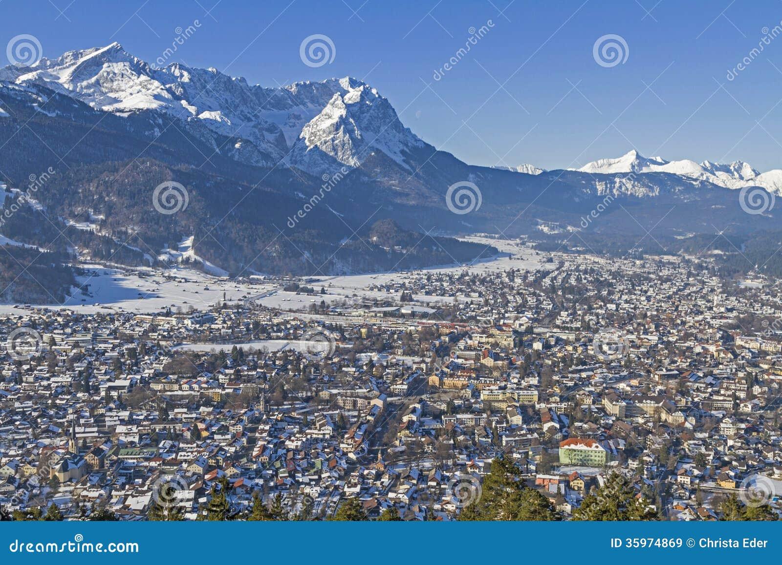 Mit Zugspitze de Garmisch
