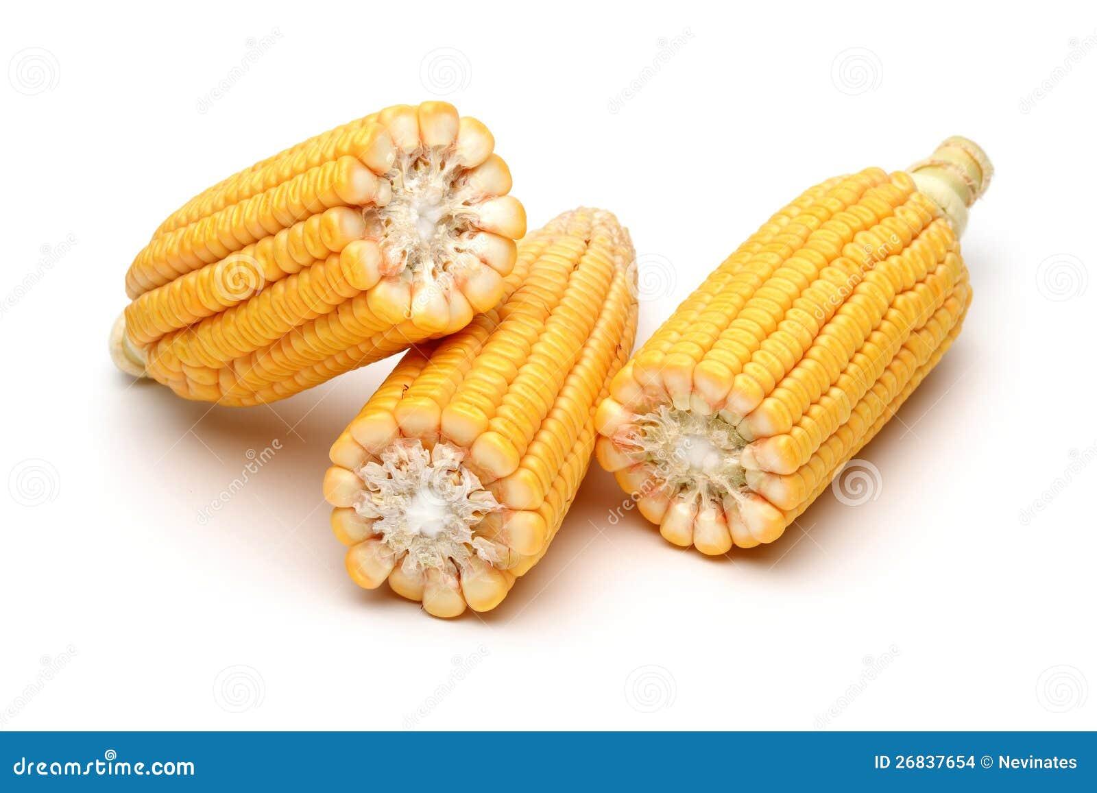 Mitad de granos frescos