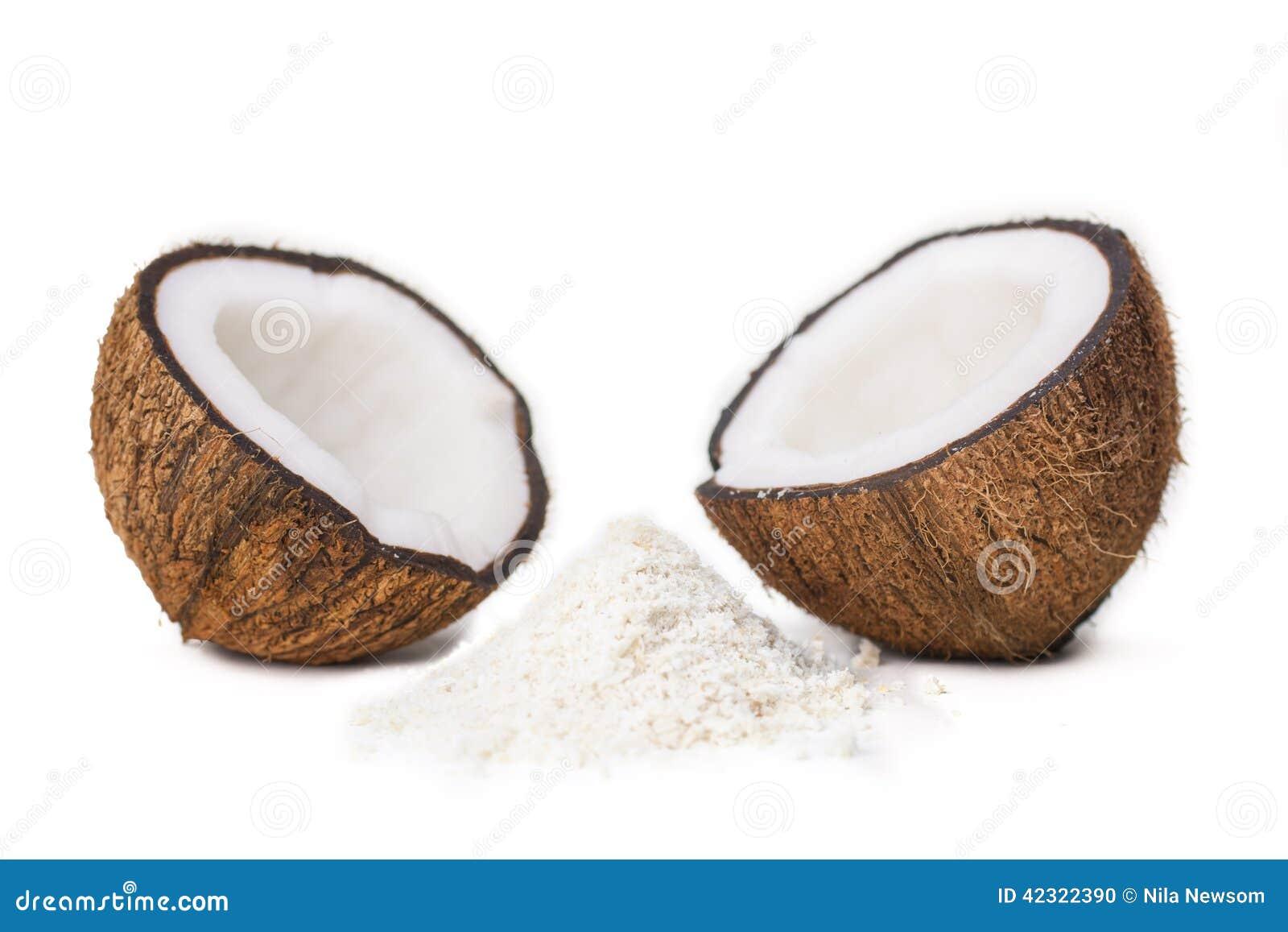 Mitades del coco