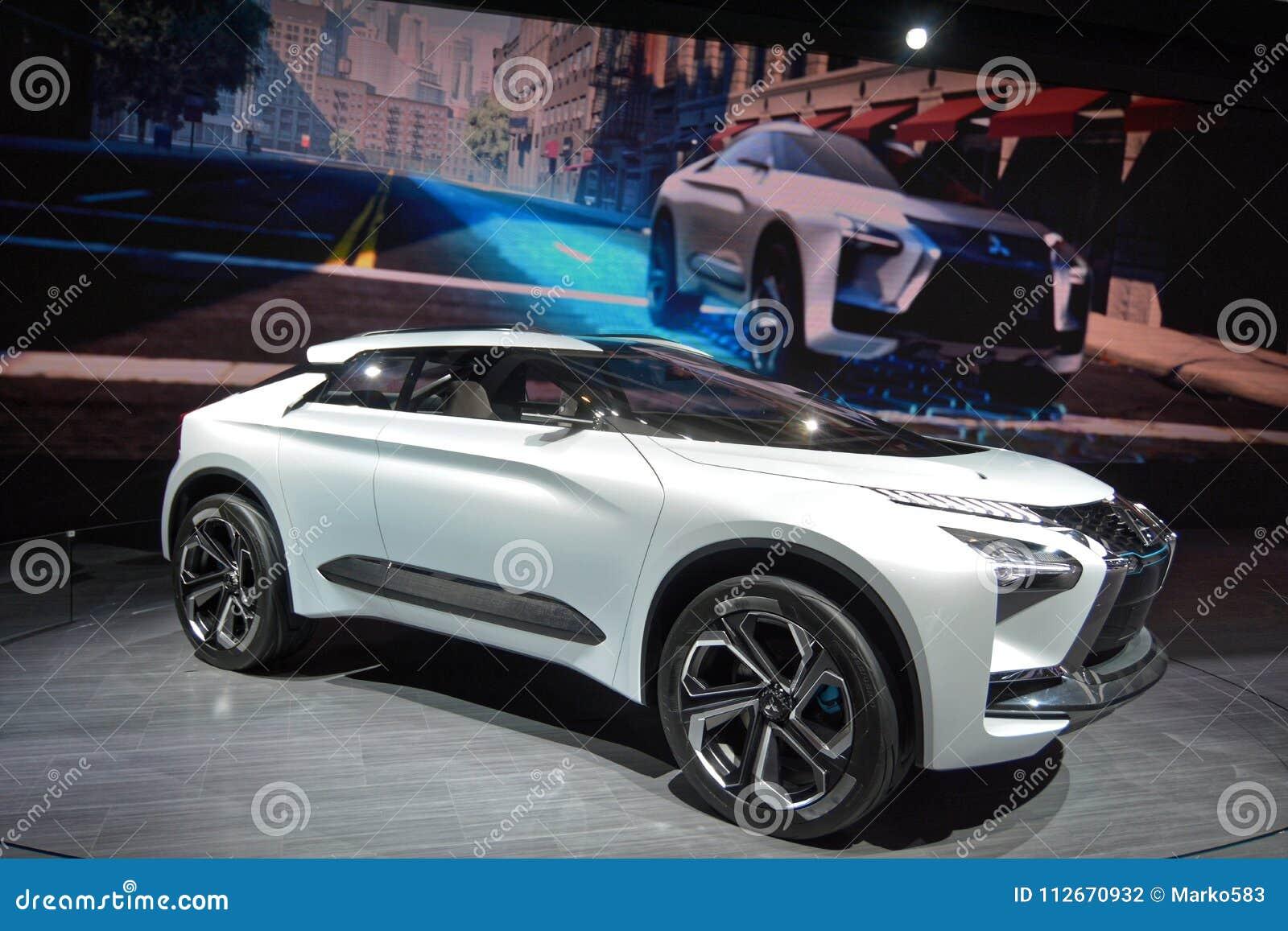 88th Geneva International Motor Show 2018 Mitsubishi E Evolution