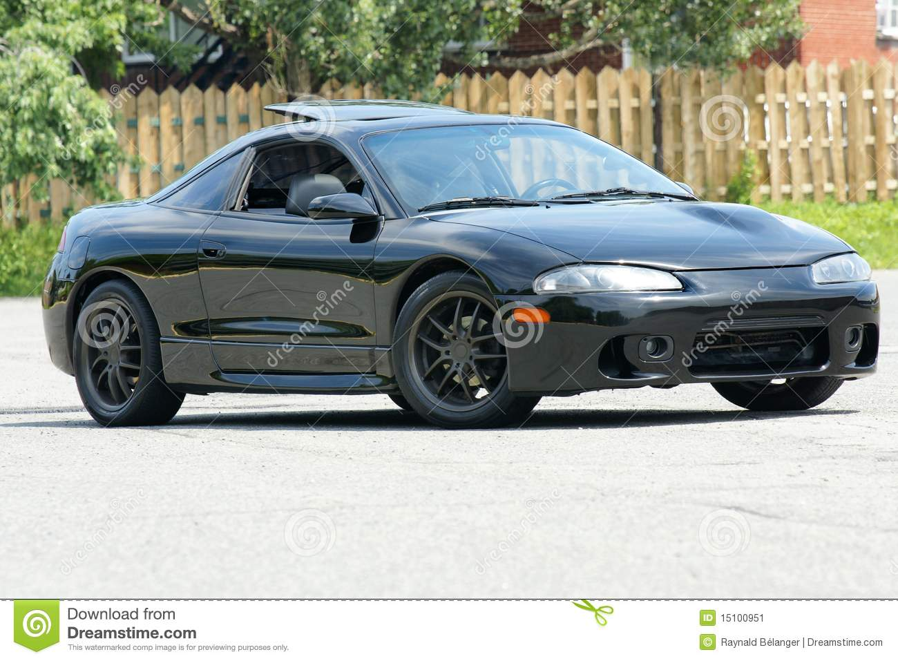 Mitsubishi Eclipse Stock Image Image Of Four City Speed 15100951