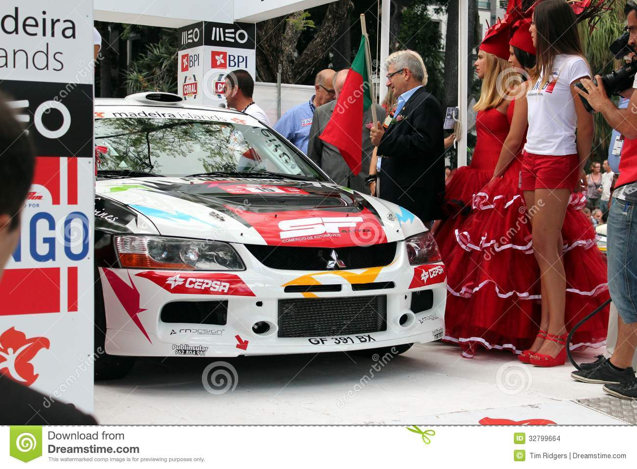 Mitsubishi Evo Rally car editorial stock image. Image of objects ...