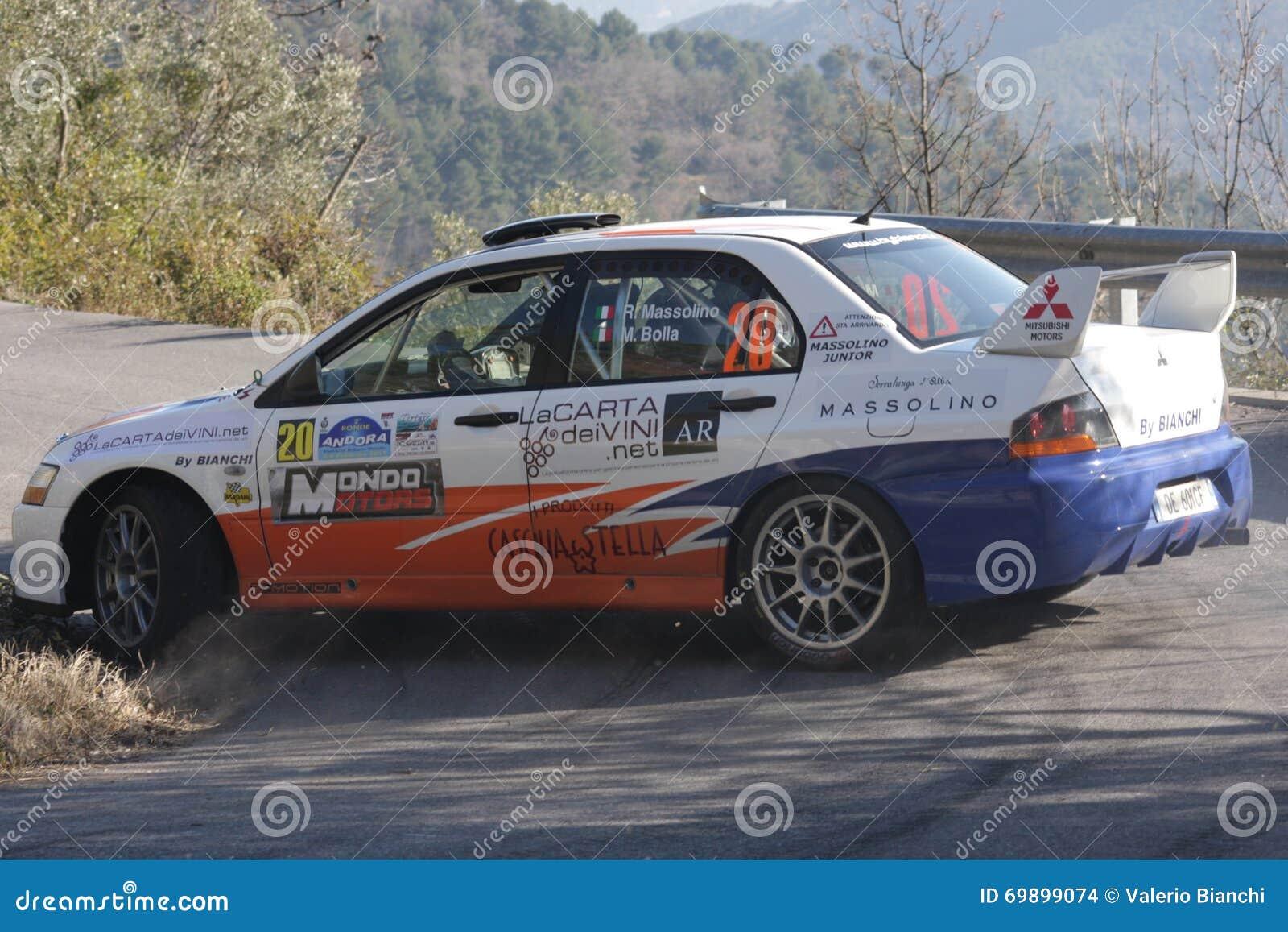 Mitsubishi Evo 9 Rally Car Editorial Stock Image - Image of edition ...