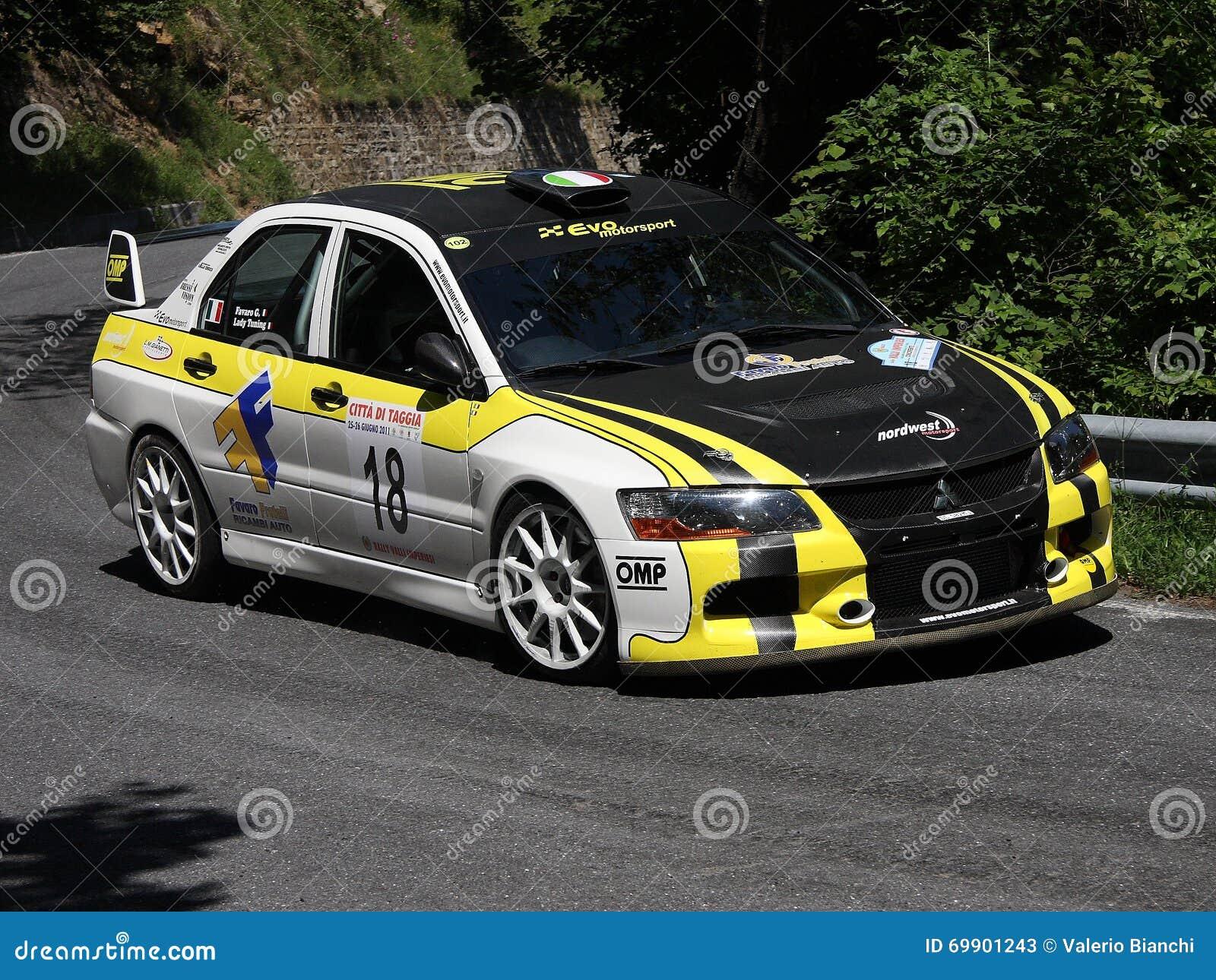 Mitsubishi Evo 9 RC Rally Car Editorial Stock Photo - Image: 69901243