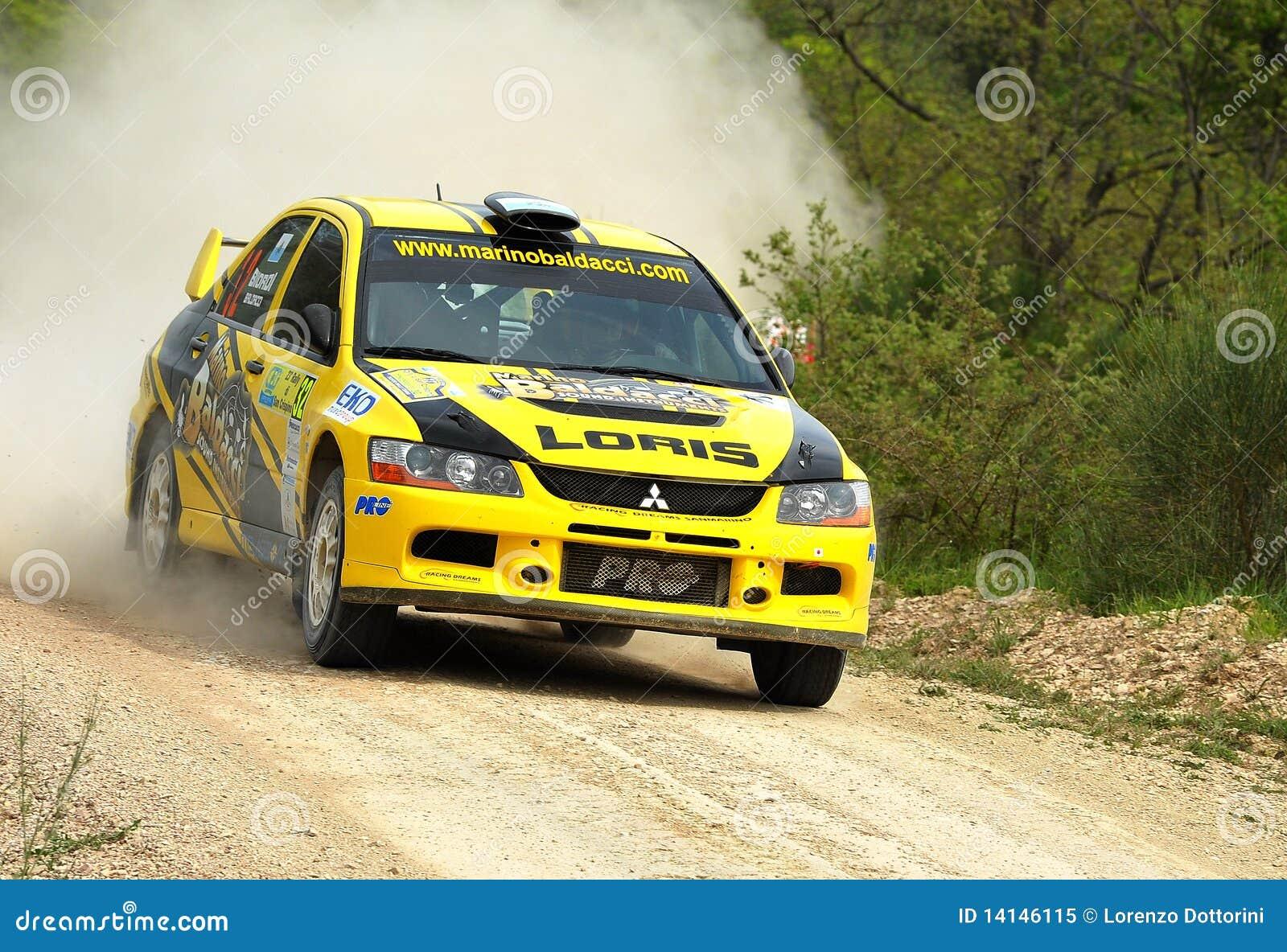 Mitsubishi Lancer Evo IX Rally Car Editorial Image - Image of ...