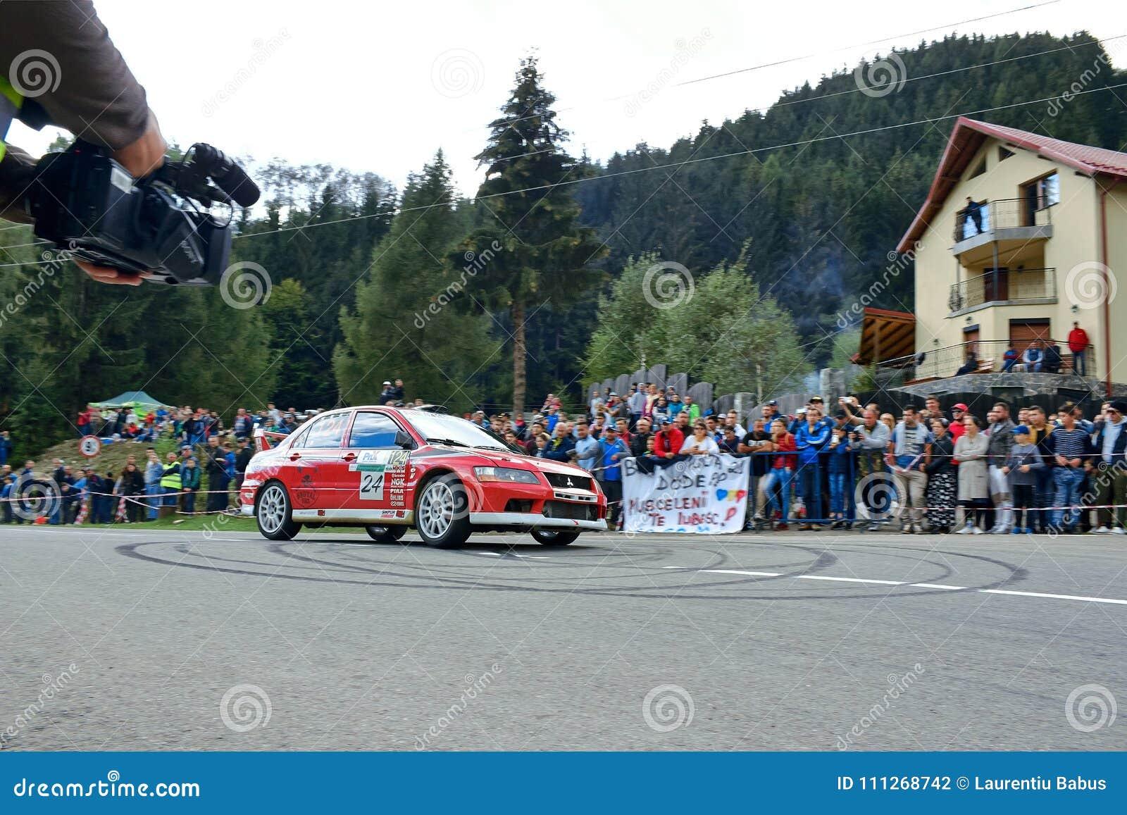 Mitsubishi Lancer Evo Viii Tuning Rally Car Editorial Photography