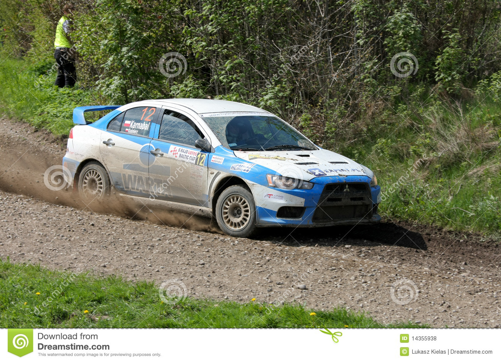 Mitsubishi Lancer EVO WRC racing