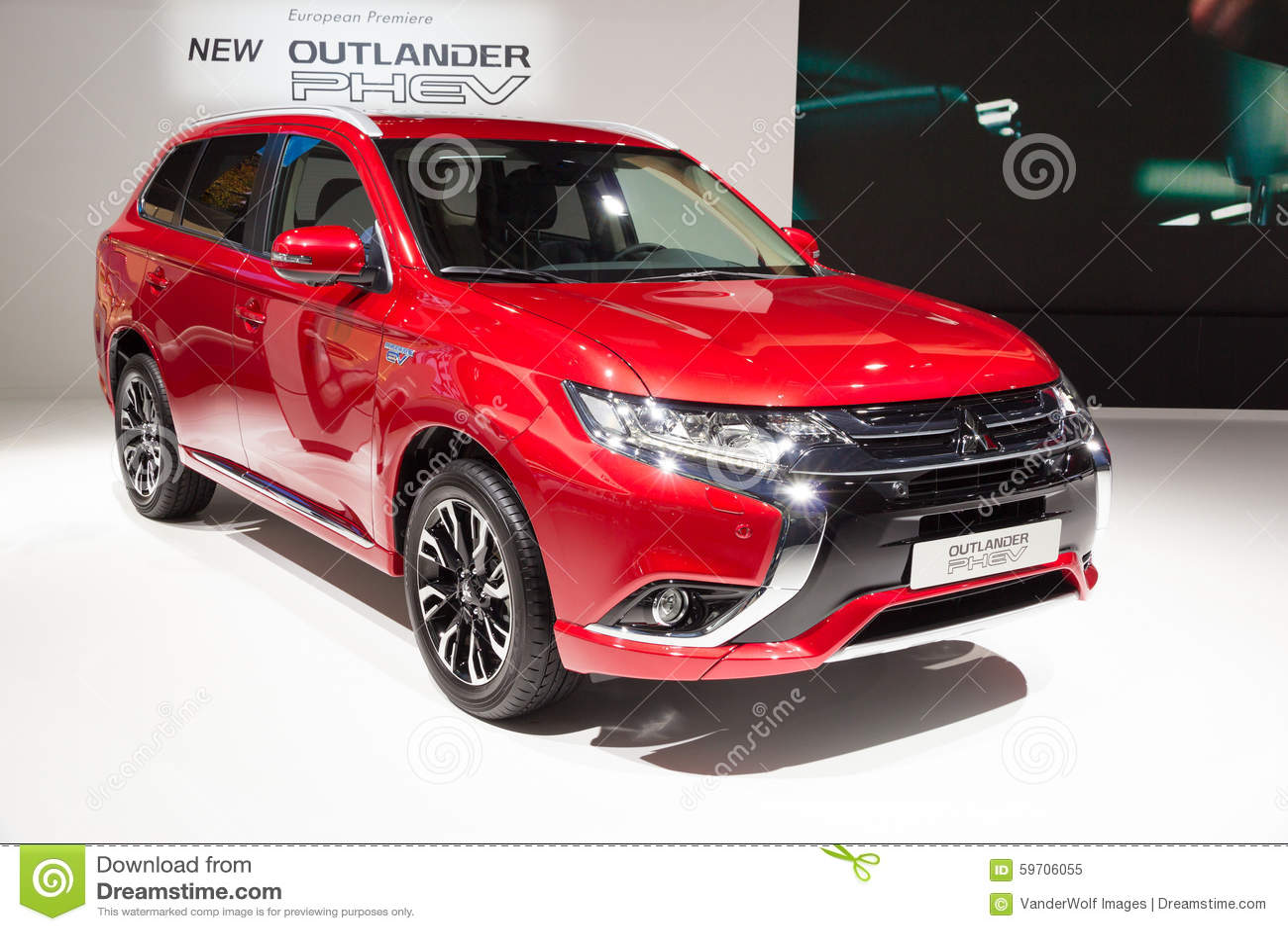 2016 Mitsubishi Outlander PHEV Editorial Image - Image of
