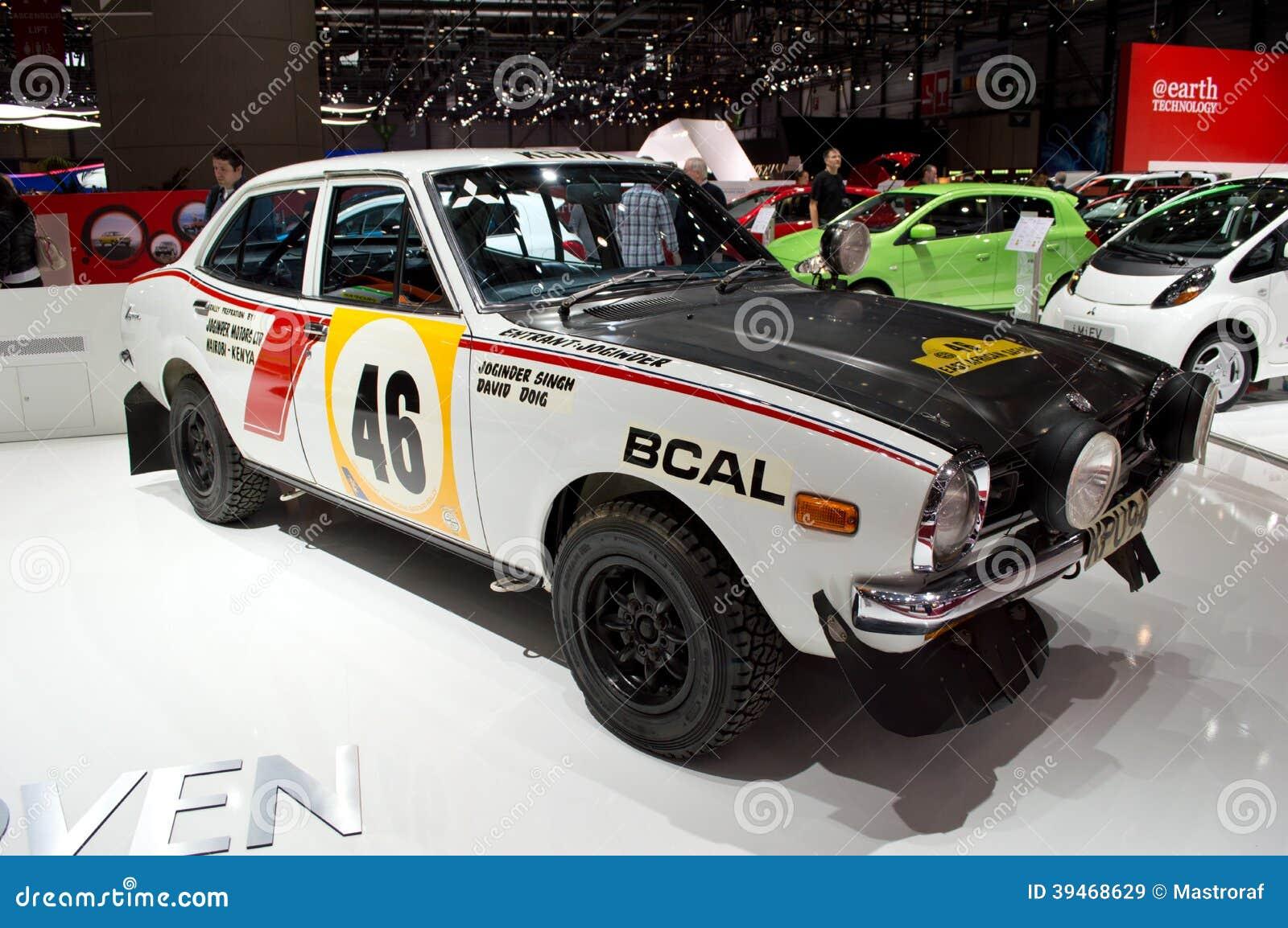 Mitsubishi rally origins geneva 2014 editorial stock image - Salon de lauto geneve ...