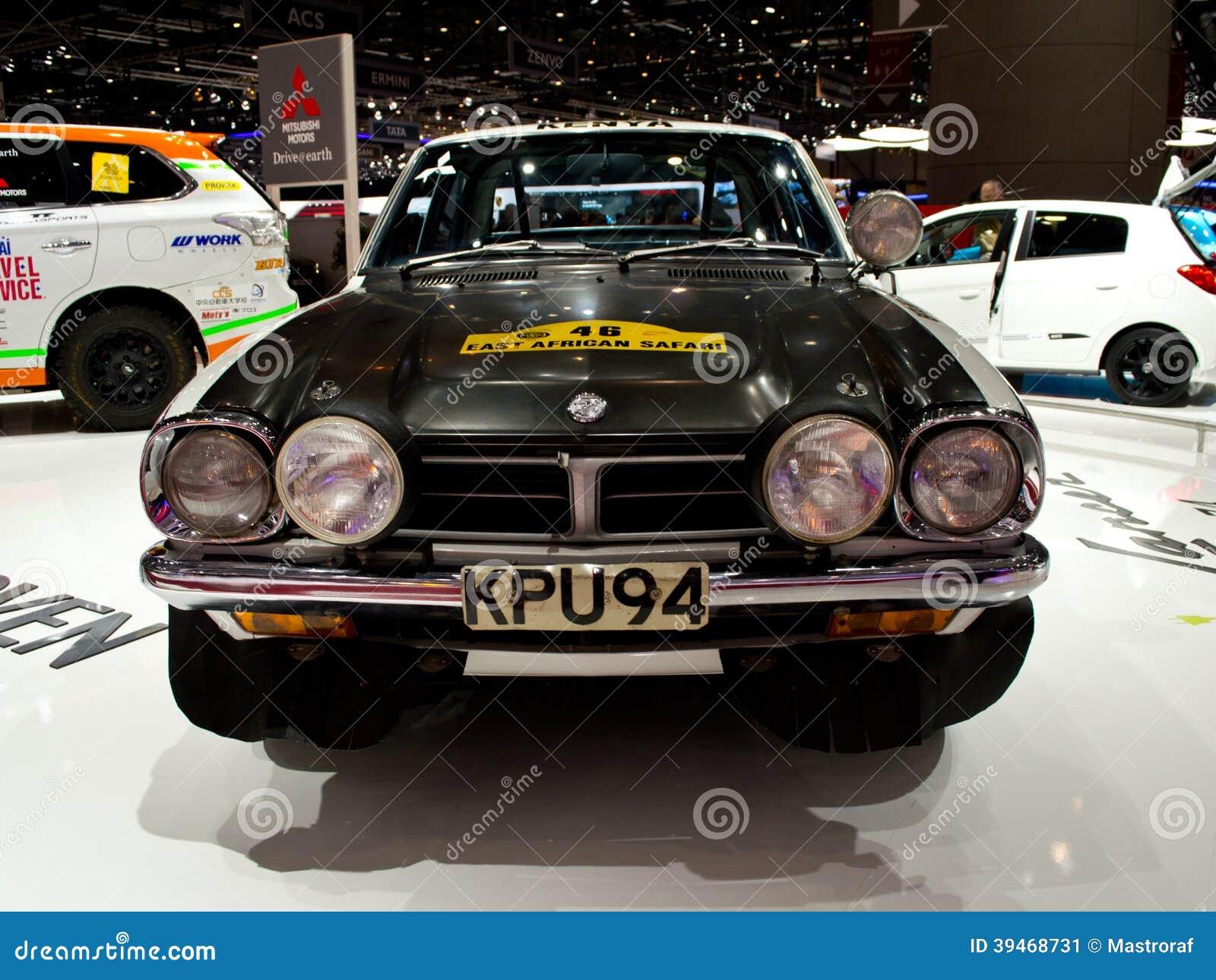 Mitsubishi rally origins geneva 2014 editorial photo - Salon de lauto geneve ...