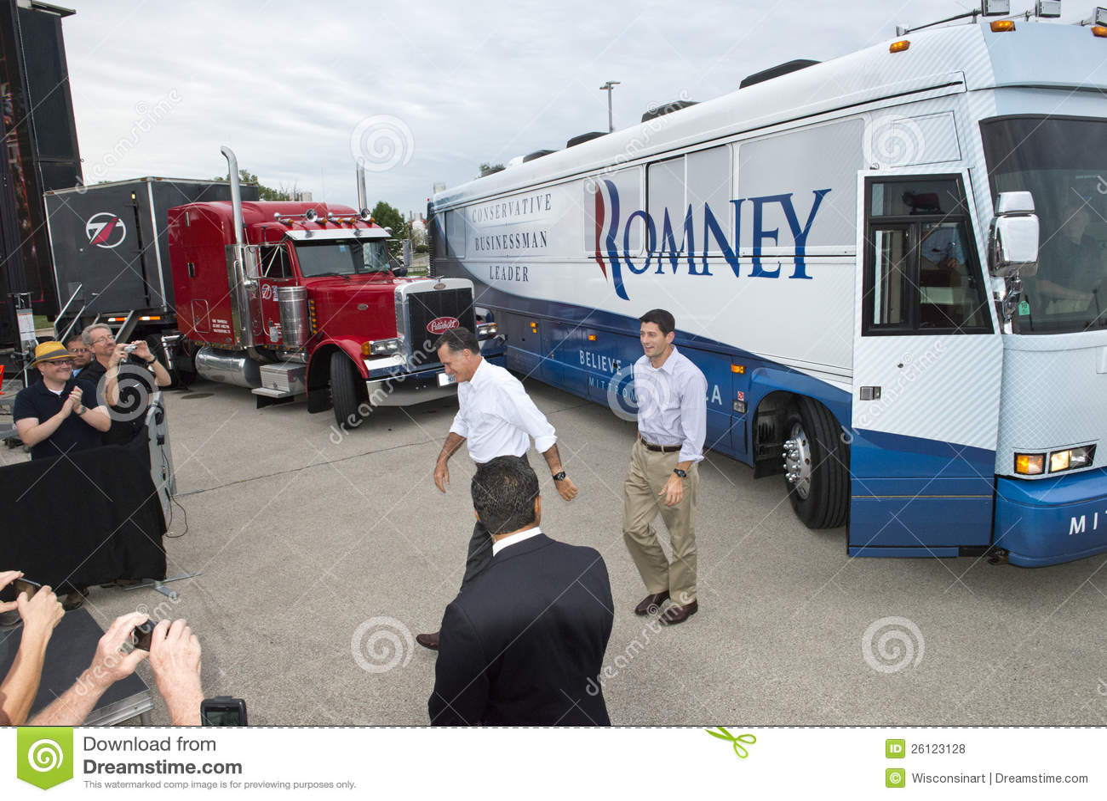 Mitt Romney, Paul Ryan President, Vice Candidates
