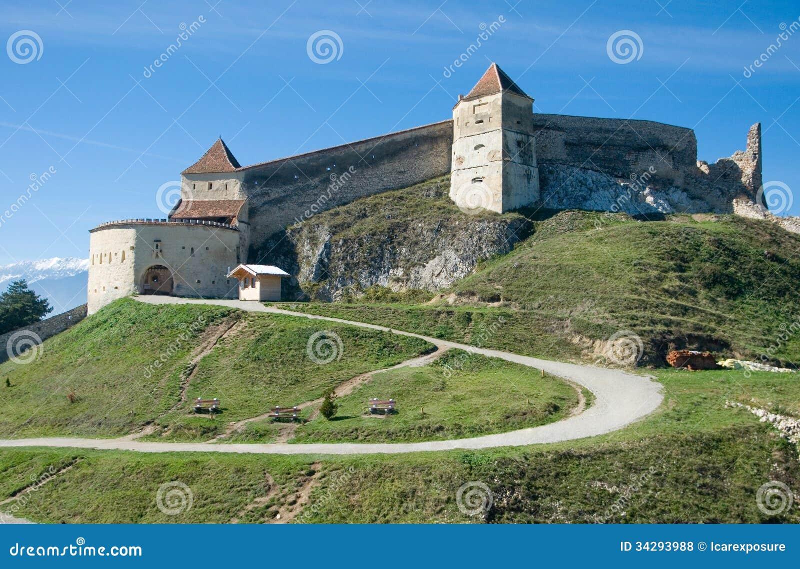 Mittelalterliche Festung in Rasnov