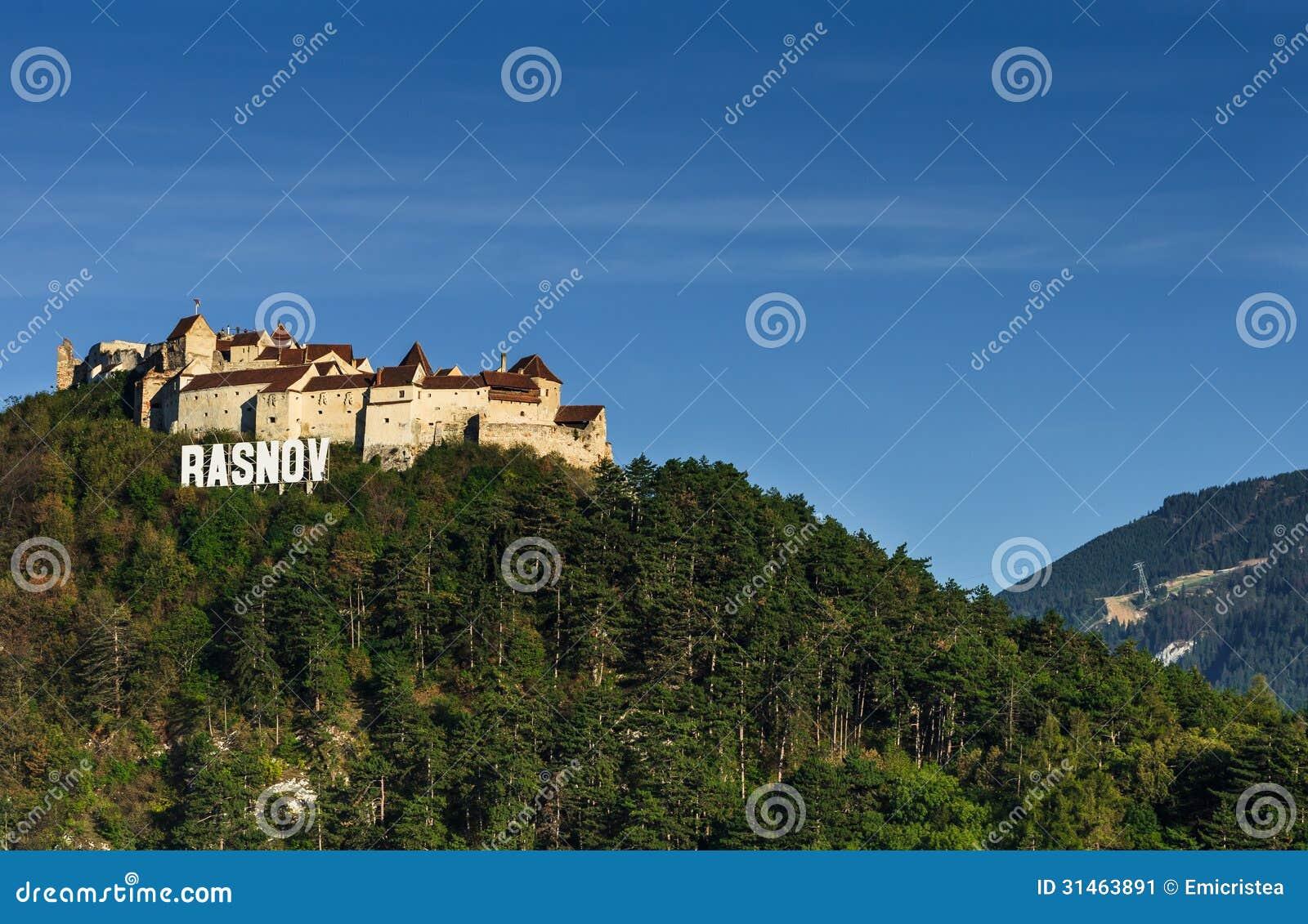 Mittelalterliche Festung Rasnov, Siebenbürgen, Rumänien