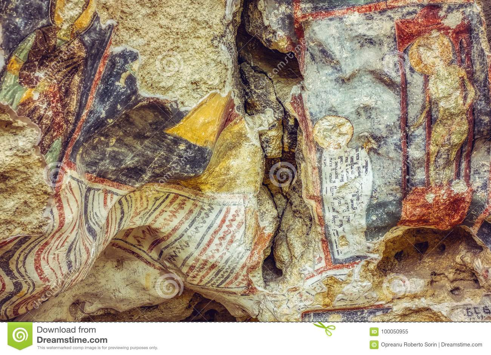 Mittelalterliche Freskos