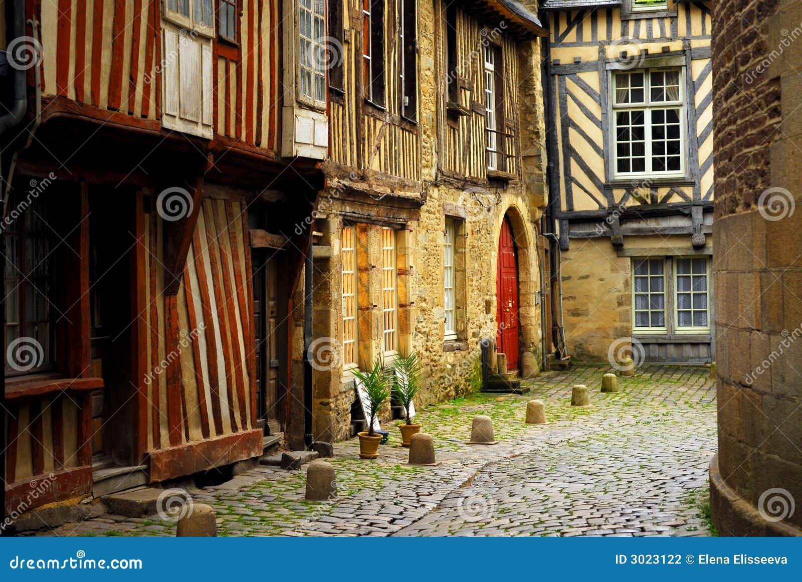 Mittelalterliche Häuser