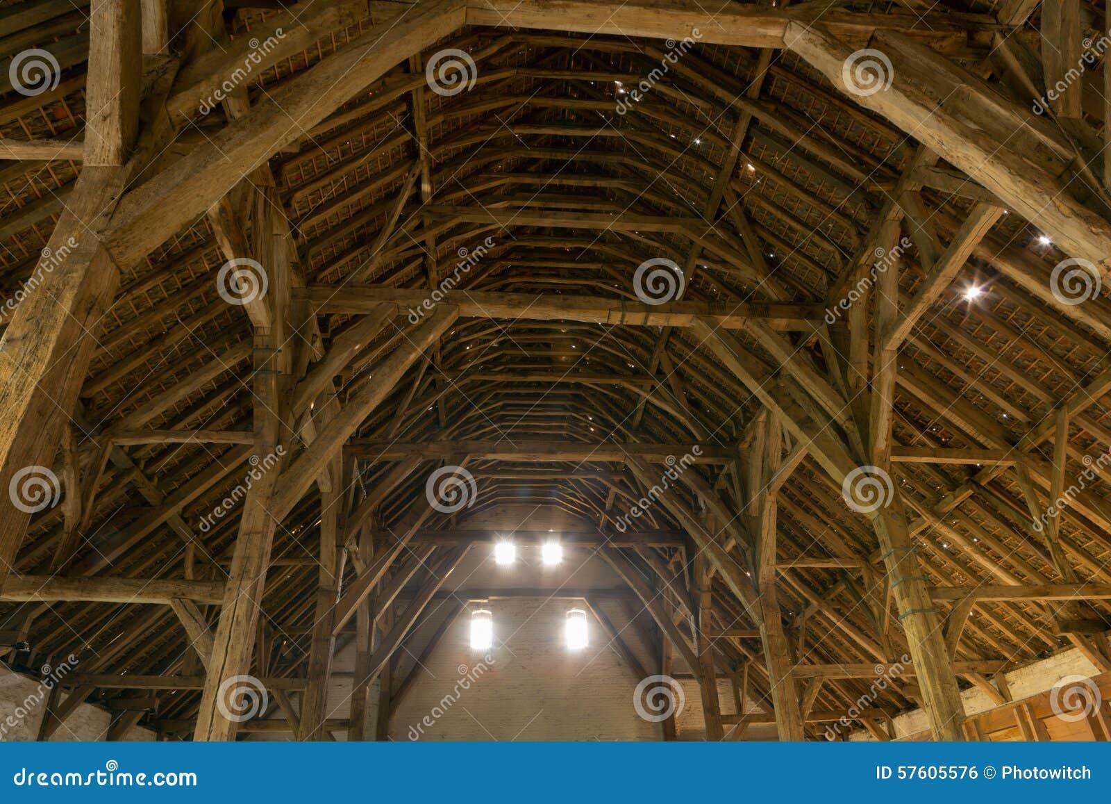 Mittelalterliche Scheune in Flandern
