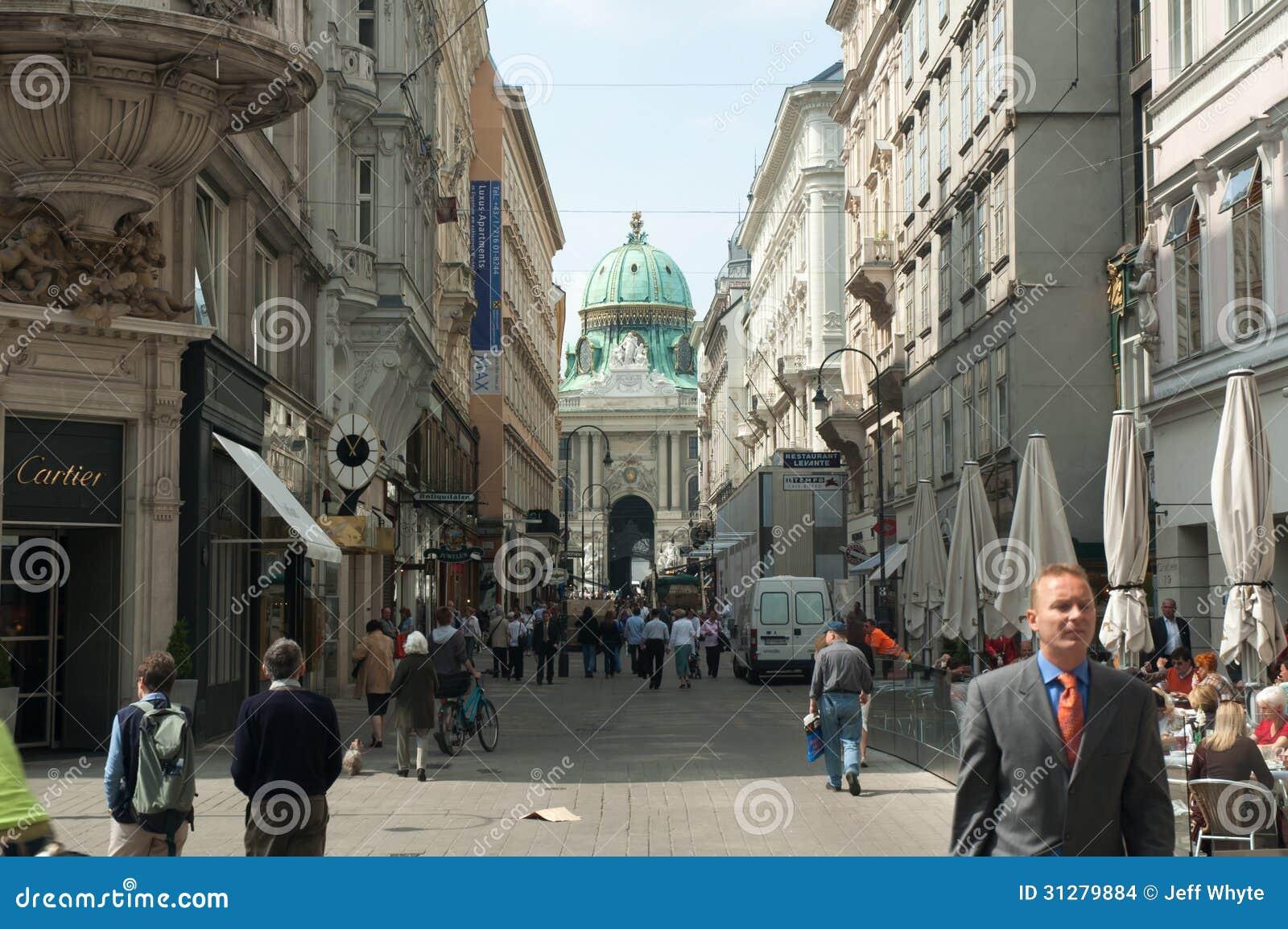 Mittelalterliche Straße, Wien