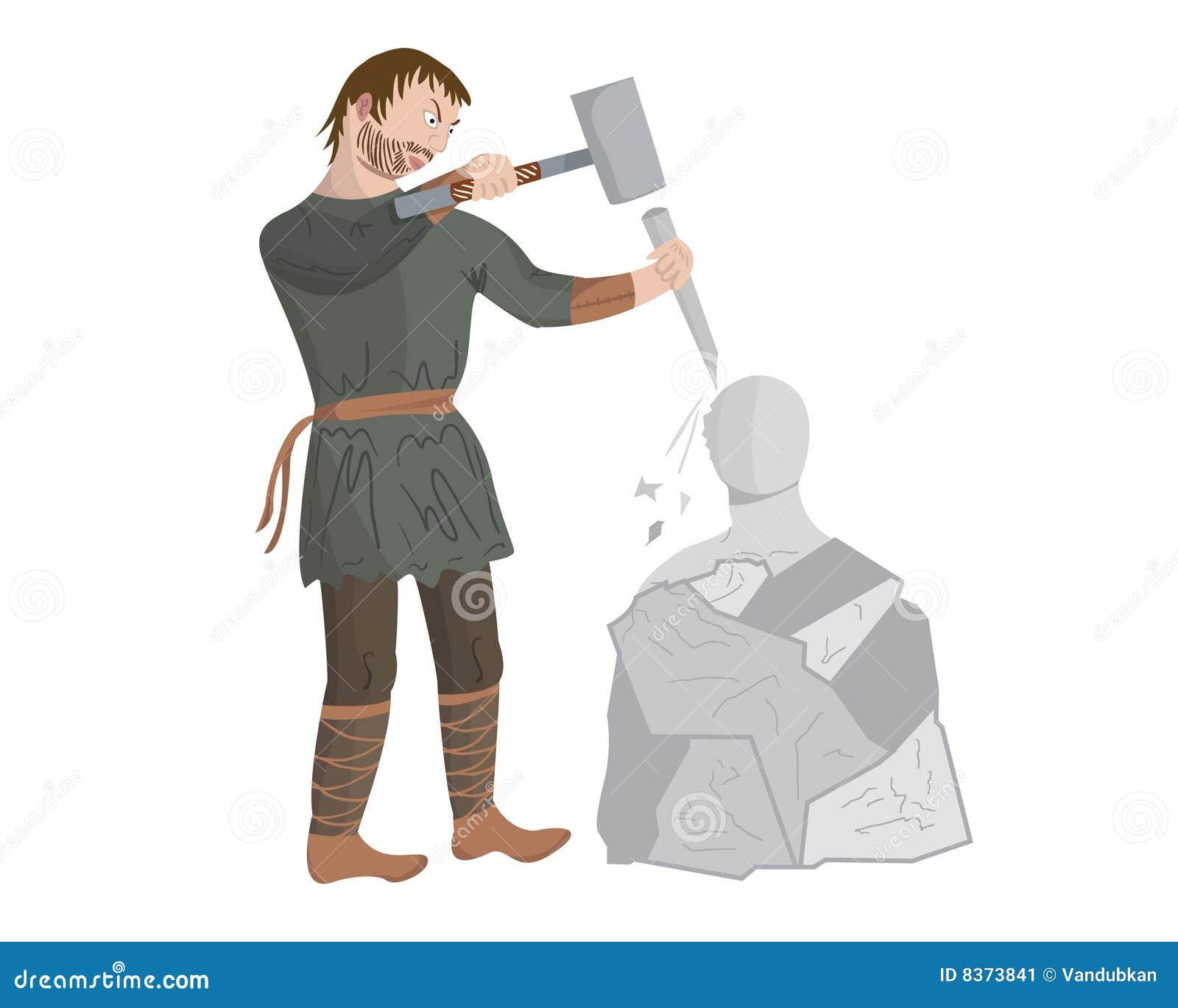 Mittelalterlicher Bildhauer