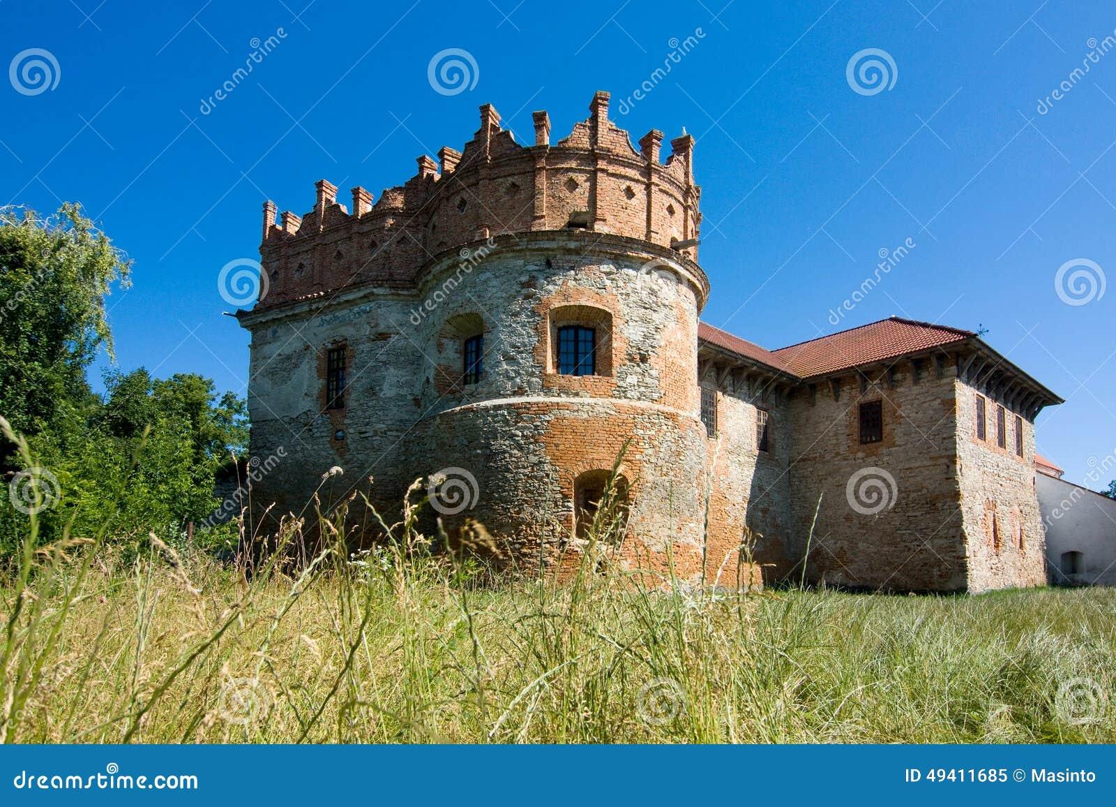 Download Mittelalterliches Altes Schloss In Starokostiantyniv Stockbild - Bild von platz, berühmt: 49411685