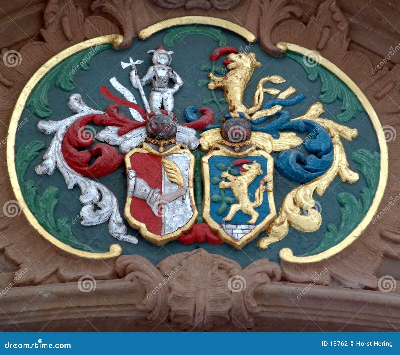 Mittelalterliches Emblem