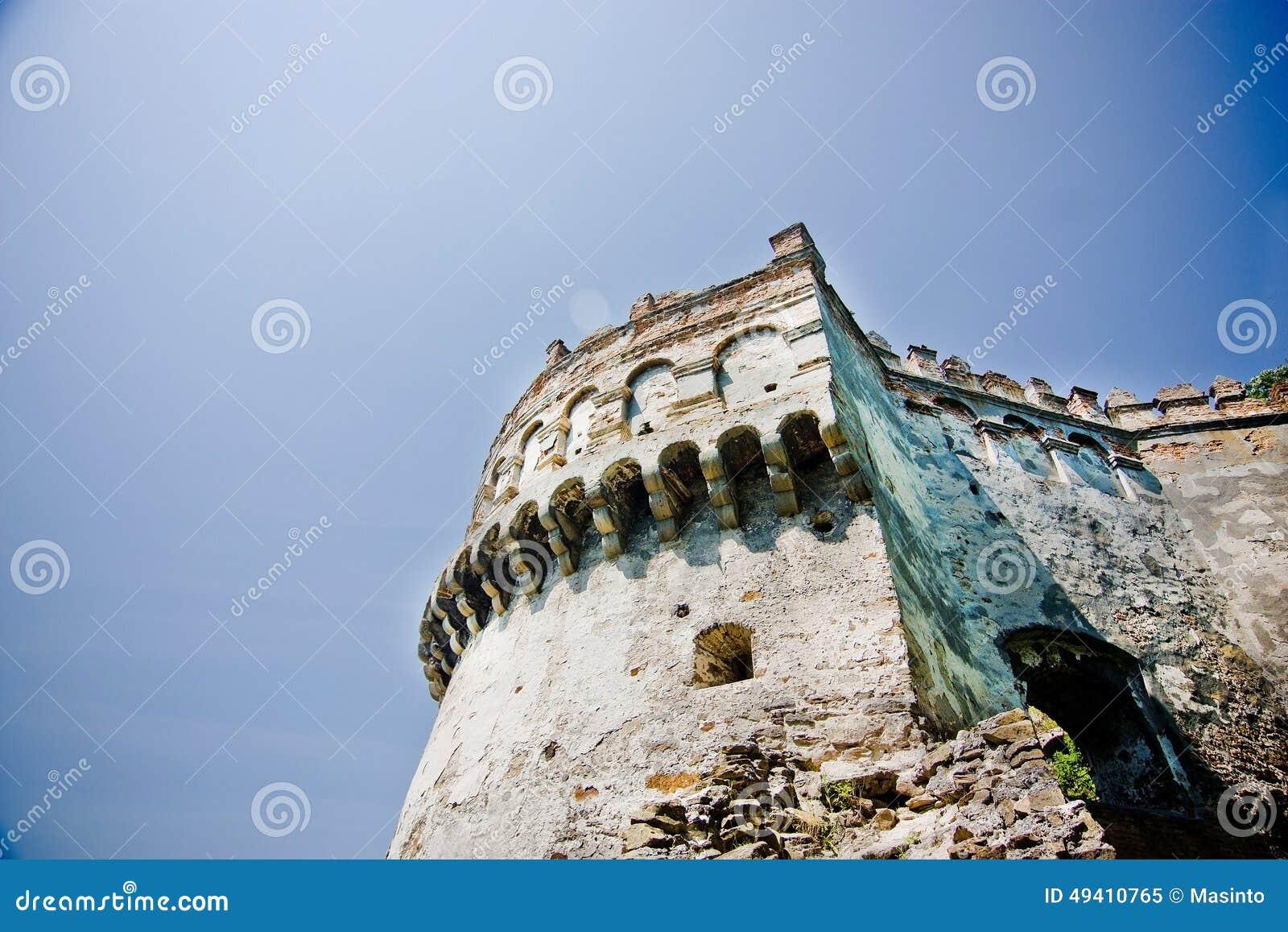 Download Mittelalterliches Schloss In Ostrog Stockbild - Bild von europa, stein: 49410765