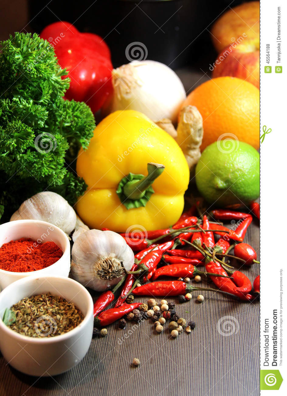 Mix of beautiful fresh vivid vegetables stock photo for Beautiful vegetables