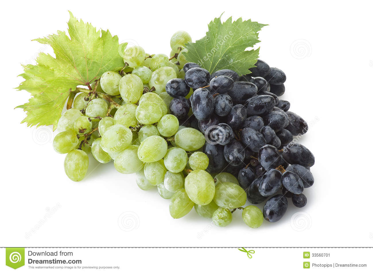 Mix of freshness grape