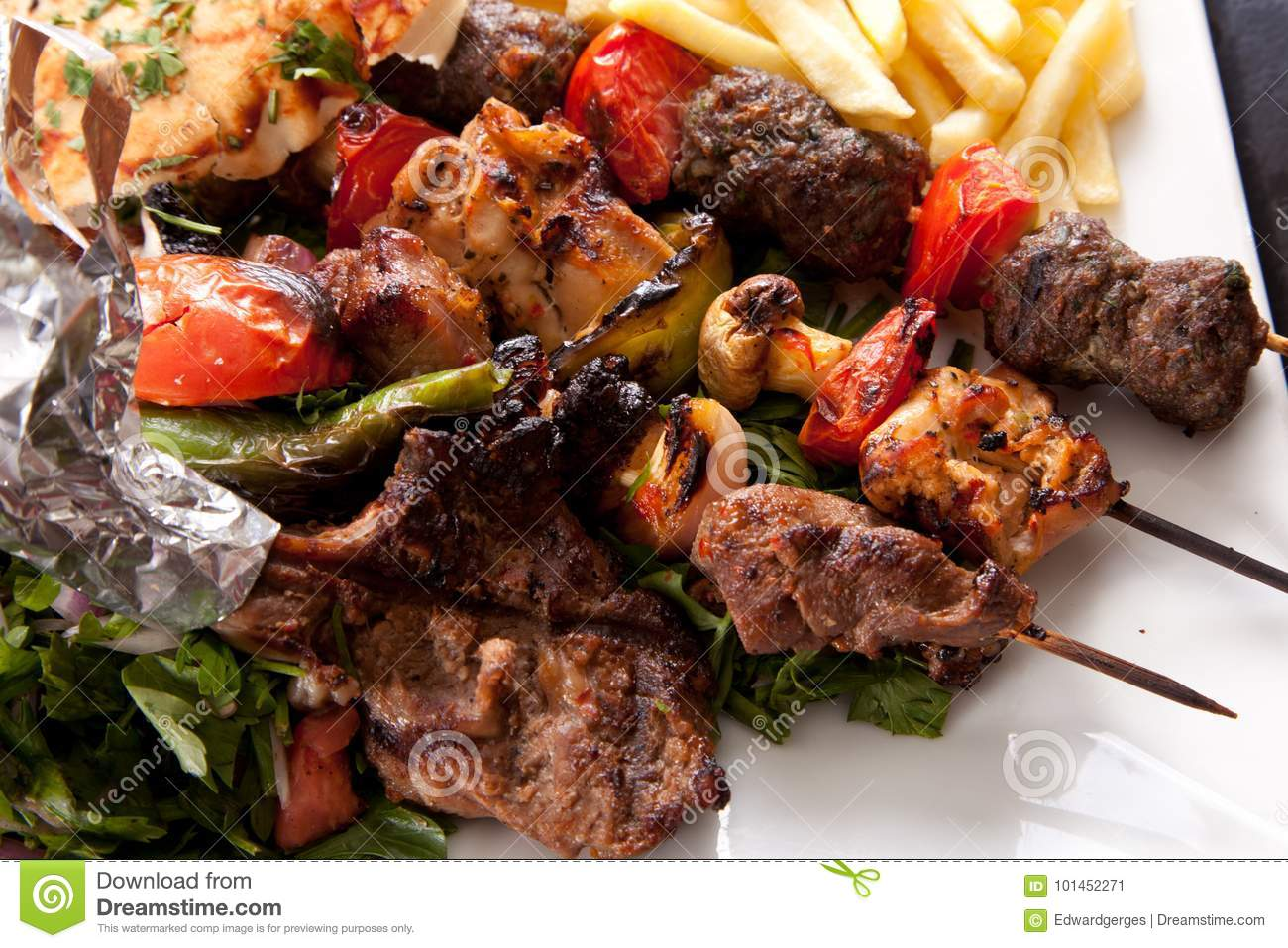Mix grilled