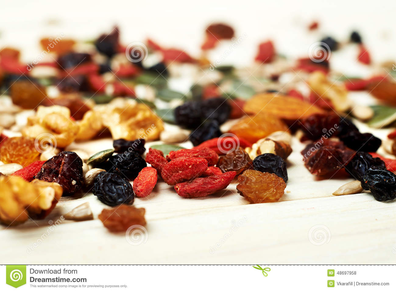 Mix nuts seeds and dry fruits