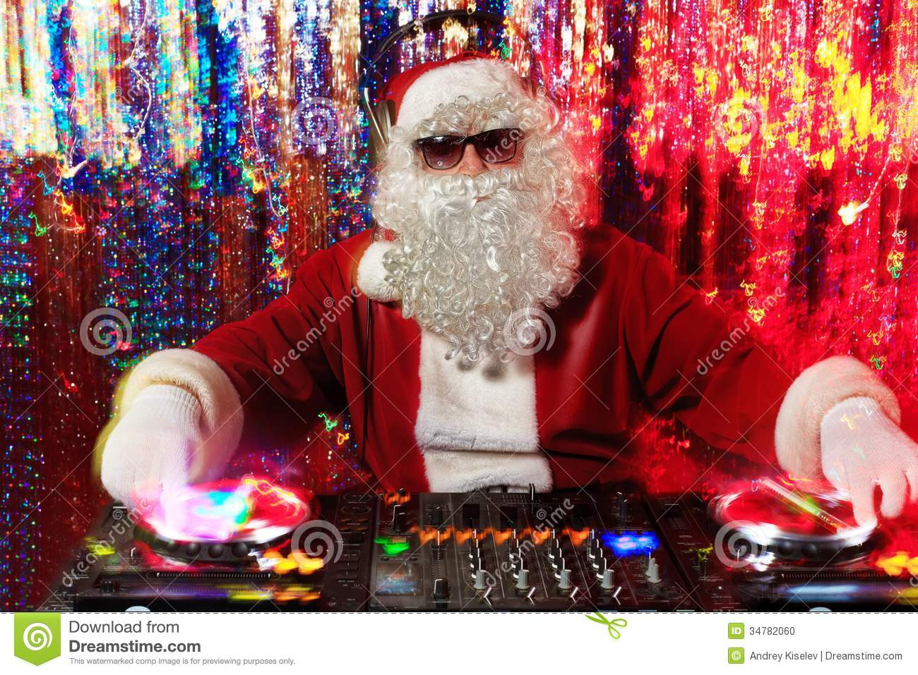 Mix Santa Stock Photo Image 34782060