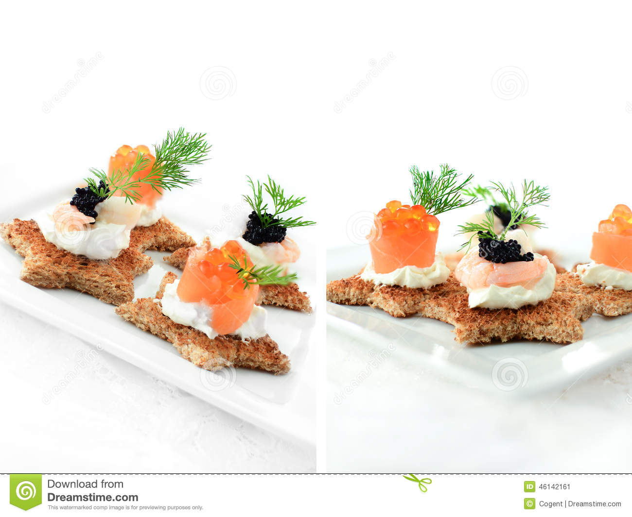 Mixed canapes stock photo image 46142161 for Canape menu prices