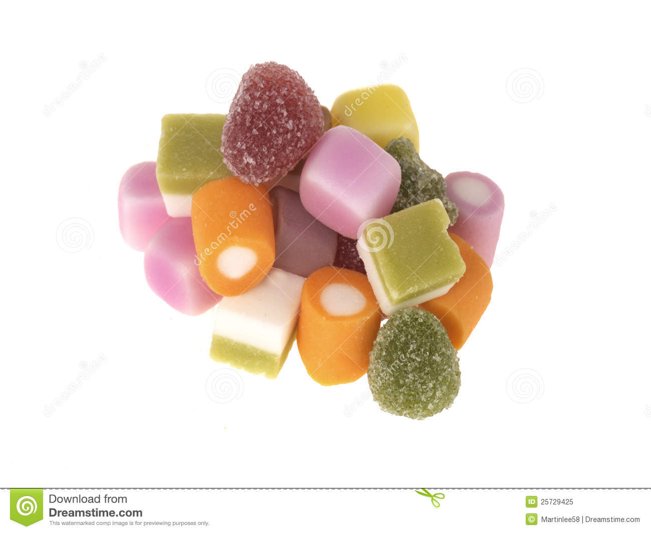 Mixed Candy Sweets