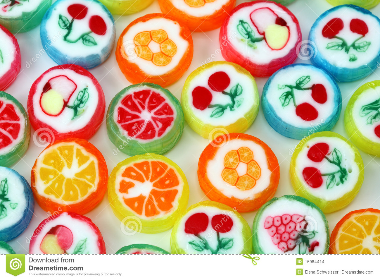 Favori Mixed Colorful Fruit Bonbon Stock Images - Image: 15984414 MM29