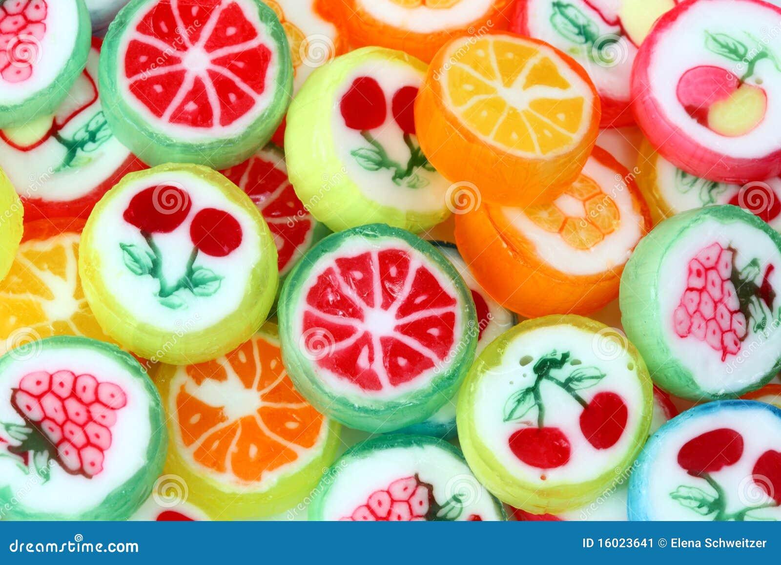 Favori Mixed Colorful Fruit Bonbon Stock Image - Image: 16023641 MM29