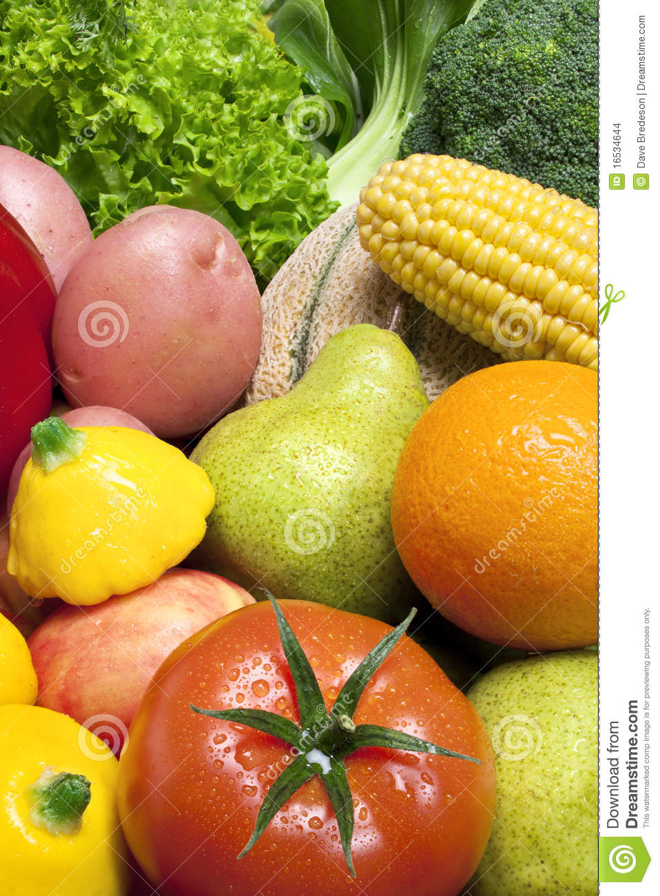 Mixed Fruit and Vegetables