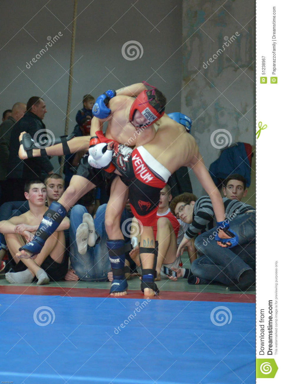 Championship of mixed martial arts (MMA) passed On February 21, sports ...