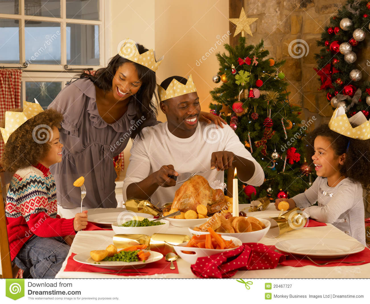 Christmas family dinner witha a twist 3