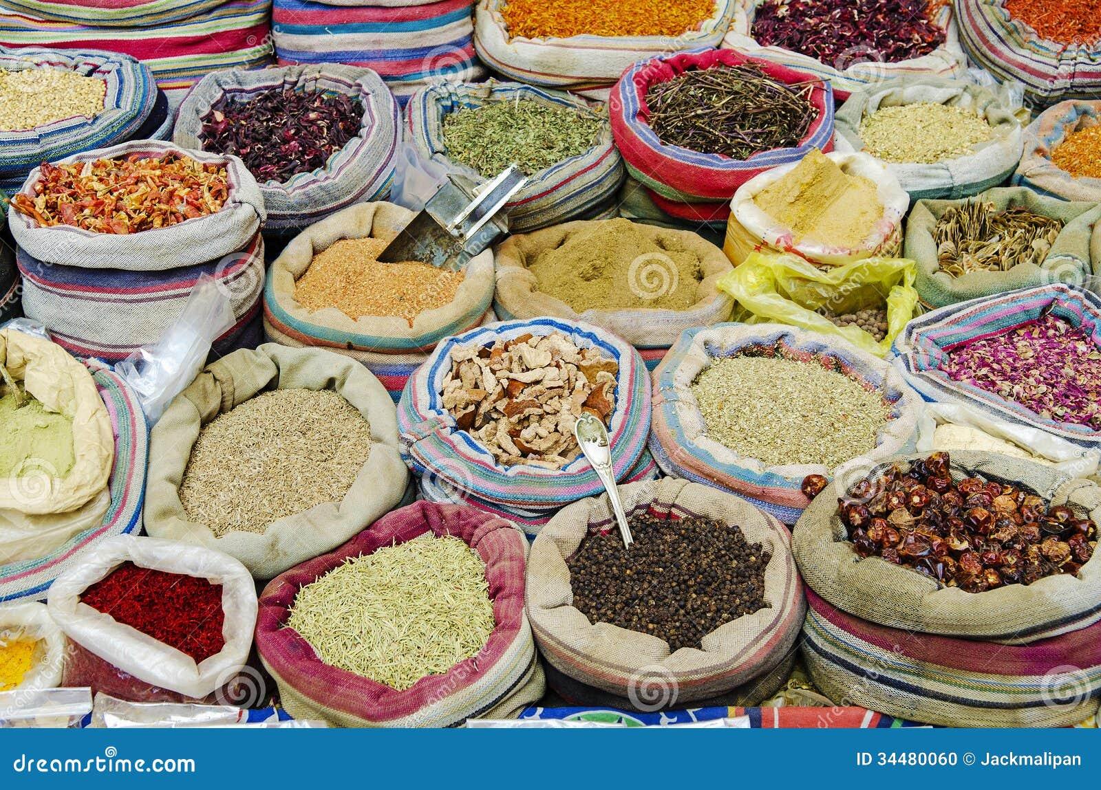 Cairo Street Market Food