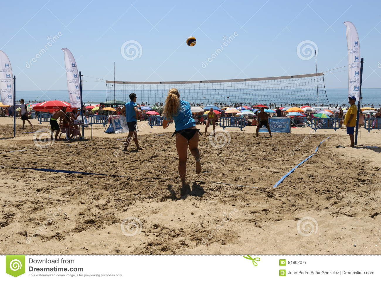 Mixed volleyball
