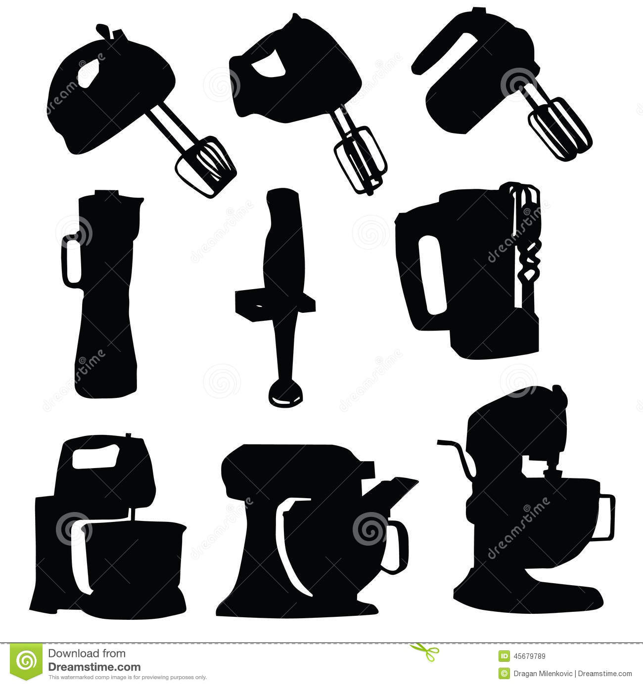 Hand Mixer Silhouette ~ Mixer silhouette gallery